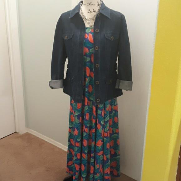 LuLaRoe Dresses & Skirts - LulaRoe Maxi skirt  w/ yoga waist XXL